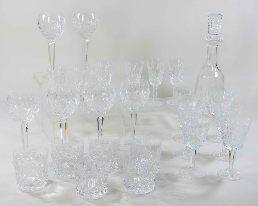 A collection of Waterford Lismore pattern crystal - Image 14 of 14