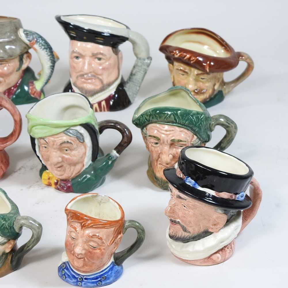 A collection of Royal Doulton Toby jugs - Image 4 of 14
