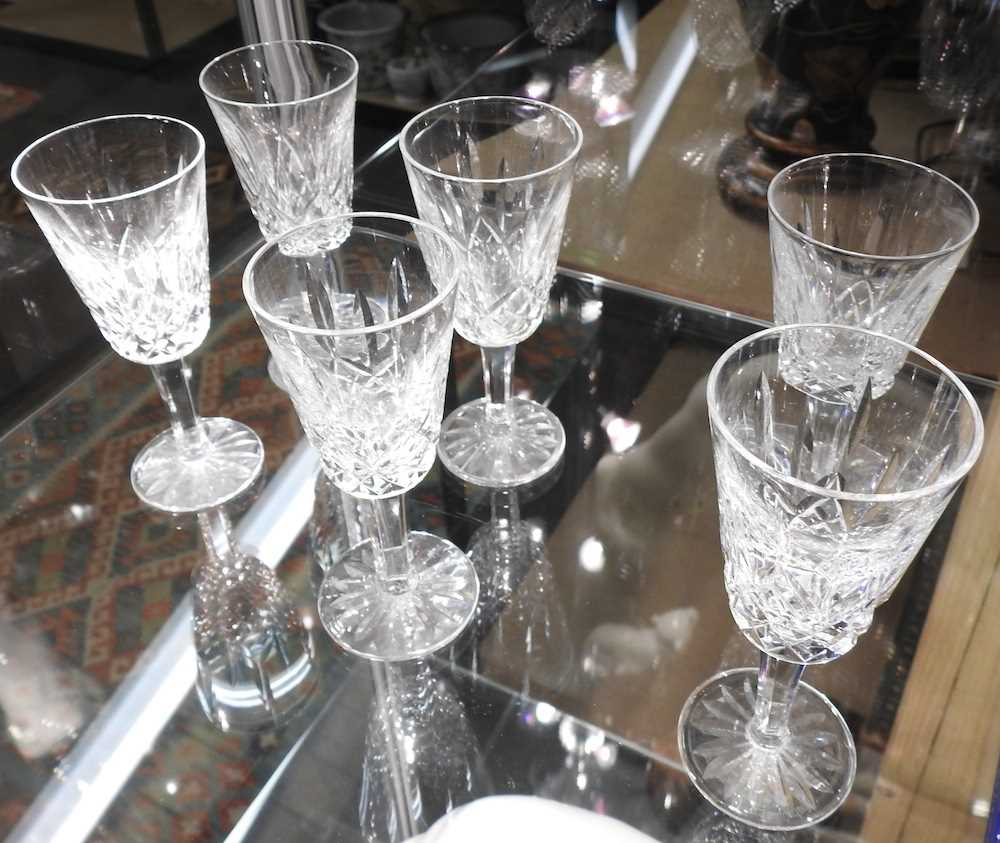 A collection of Waterford Lismore pattern crystal - Image 7 of 14