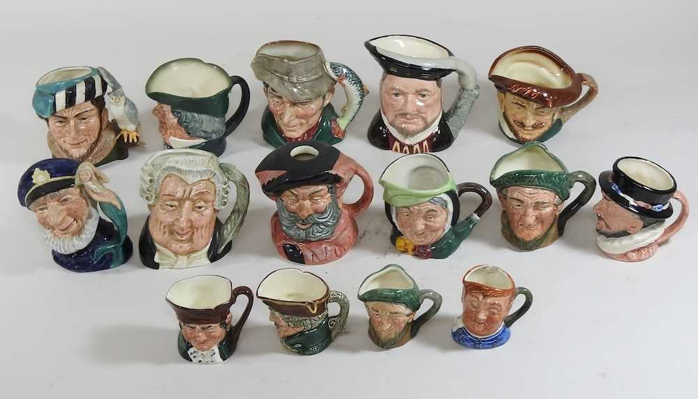 A collection of Royal Doulton Toby jugs - Image 3 of 14