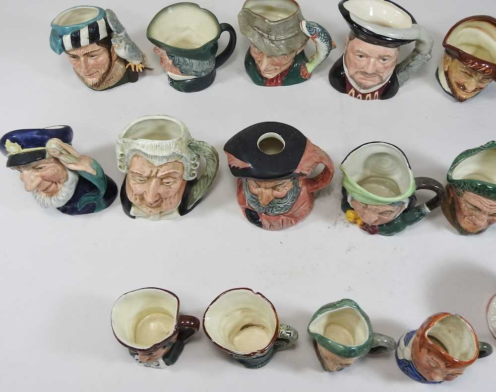 A collection of Royal Doulton Toby jugs - Image 8 of 14