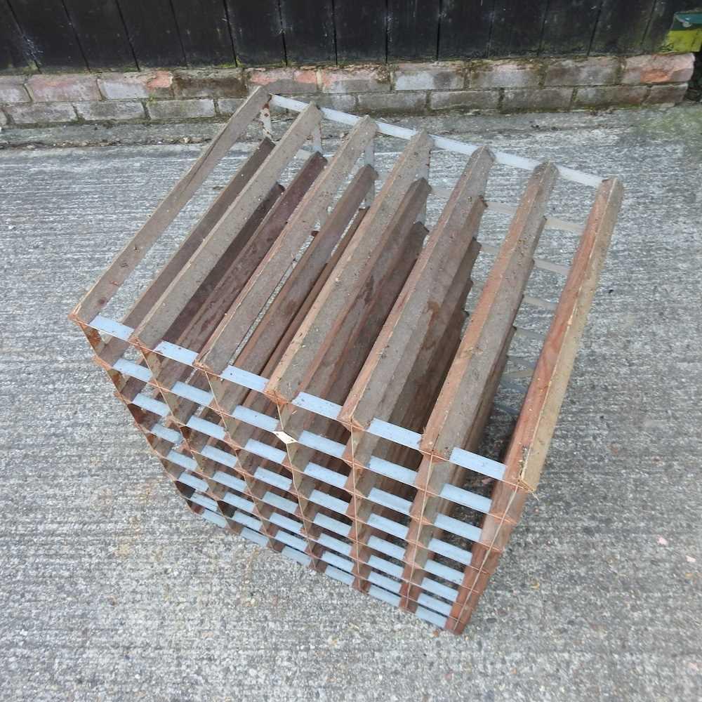 A wine rack - Image 5 of 6