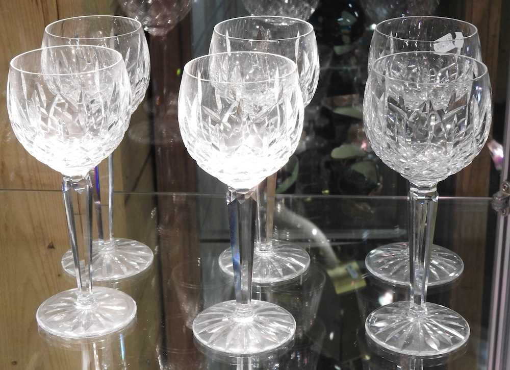 A collection of Waterford Lismore pattern crystal - Image 5 of 14
