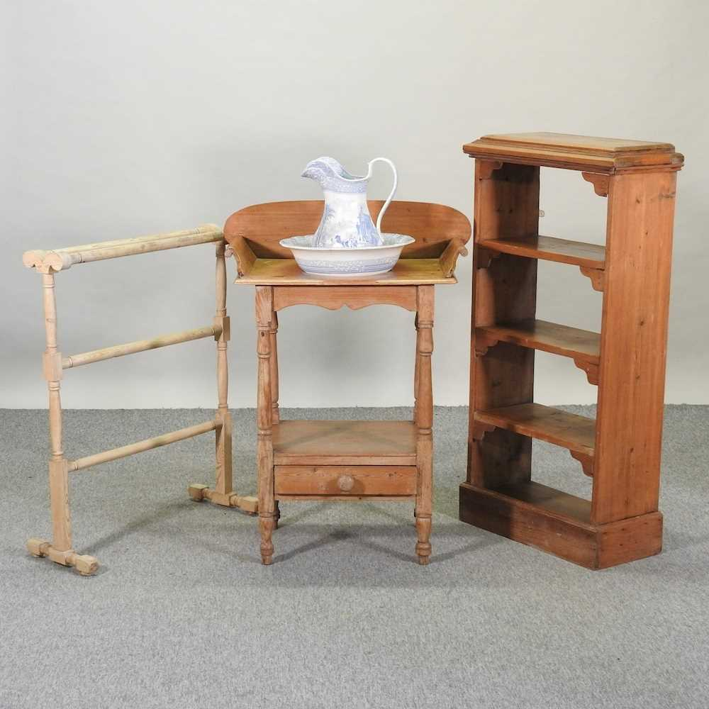 An antique wash stand