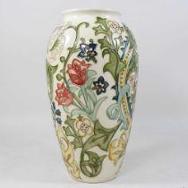 A large modern Moorcroft vase