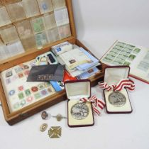 A collection of 19th century and later stamps