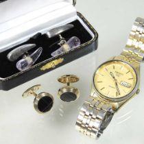 A pair of Links of London gentleman's cufflinks