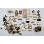 Shoulder Titles and Various Buttons titles include brass SIY ... Brass NF with grenade ... Bi-