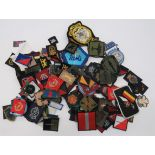 Modern British Formation Badges embroidery examples include Mercians ... Yorks TRF ... A & SH ...