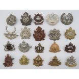 Pre 1952 Canadian Infantry Cap Badges including KC darkened Cape Breton Highlanders ... Darkened and