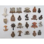 Cavalry and Yeomanry Cap Badges including bronzed, KC Royal Horse Guards (blades) ... Darkened