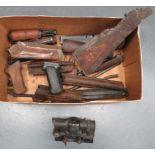 Quantity of Modern Gun Accessories including British Susat sight with lower bracket (optics