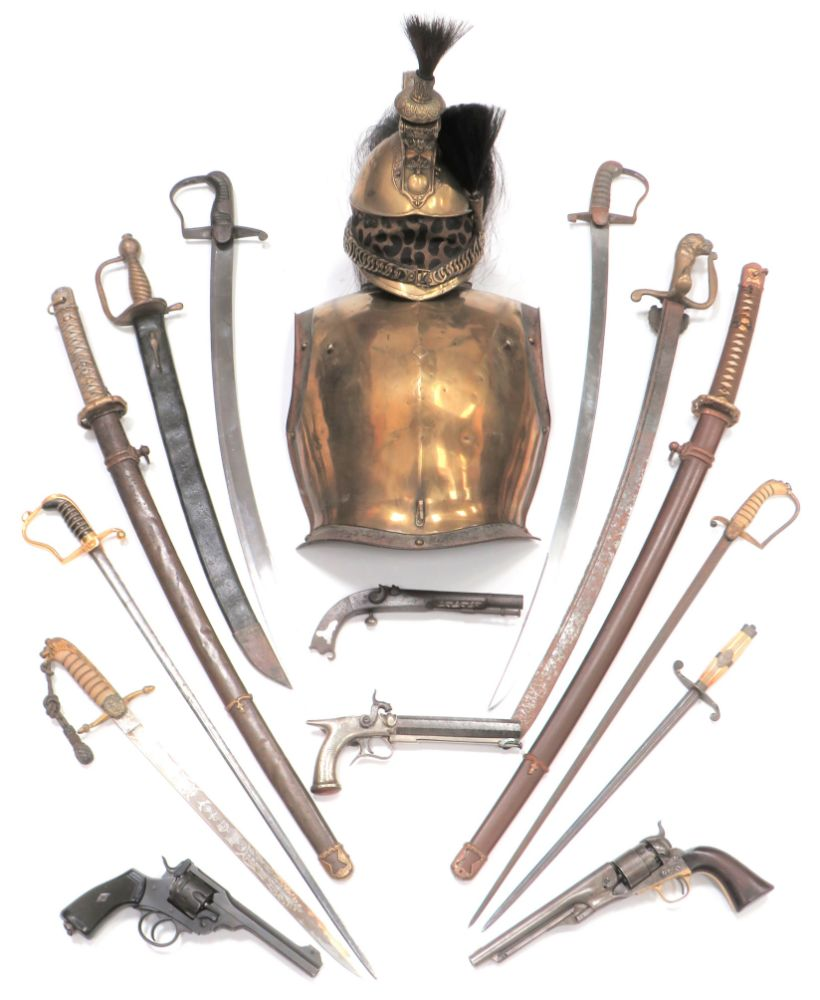 Arms, Armour and Militaria, all guaranteed original. ONLINE ONLY