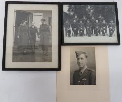 Three Various Aviation Photographs consisting black and white photo of Air Chief Dame Ruth Mary