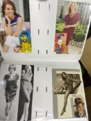 POSTACARDS Box of mixed modern and reproduction cards, various topics including celebrities,