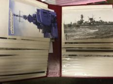 POSTCARDS Accumulation of mainly reproduction cards in seven albums,