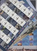 Great Britain Stamps : Smiler Sheets LS 65, 66, 67, 69, 70, 72, 73, 74 total face value £120.