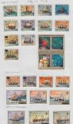 Penrhyn Stamps 1985 official set of 25 to $9.