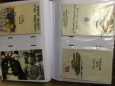 POSTCARDS Accumulation of mainly reproduction cards in albums,