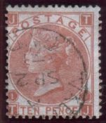 Great Britain Stamps : 10d Pale Red Brown,