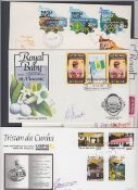 STAMPS POSTAL HISTORY : Small batch of covers including Tristan Da Cunha signed,