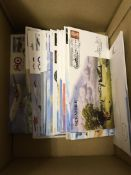 STAMPS POSTAL HISTORY : Small box with approx 70 special signed RAF flown covers including Dennis