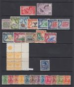 STAMPS : BRITISH COMMONWEALTH, Pacific Islands with a mint selection on three stock pages.