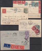 GREAT BRITAIN STAMPS : Postage Due cover
