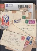 GREAT BRITAIN STAMPS : Small batch of ED