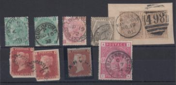 GREAT BRITAIN STAMPS : QV used selection
