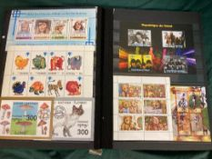 STAMPS : All World 60 side stockbook of
