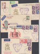 STAMPS AIRMAIL : COCOS (KEELING) ISLANDS