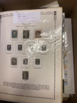 STAMPS : WORLD, box with European, USA, Middle East etc.