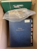 STAMPS : Glory box of stamps in stockbooks and loose,