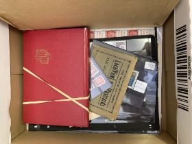 STAMPS : EUROPE, box with mostly older with classic material incl.