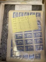 STAMPS : WORLD, various on stock pages & album leaves etc,