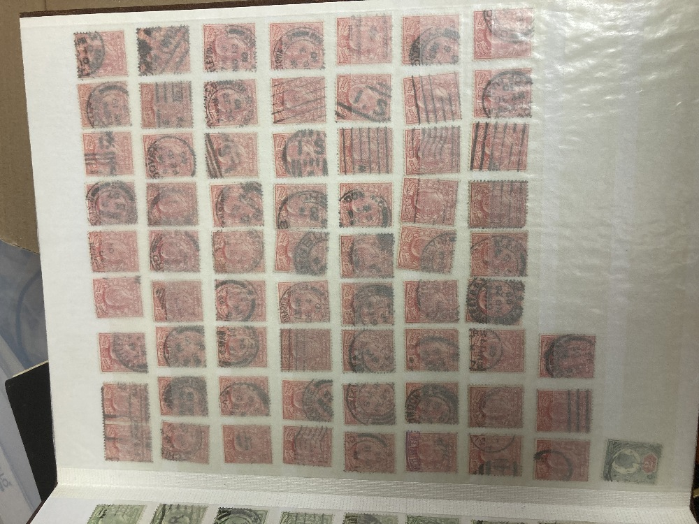 STAMPS Accumulation in four stock books, including early GB, Hungary, Belgium and Commonwealth. - Image 2 of 4