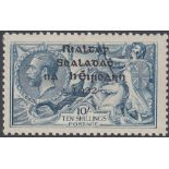 STAMPS IRELAND 1922 10/- Dull Grey-Blue,