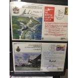 STAMPS POSTAL HISTORY : RAF signed covers in special album,