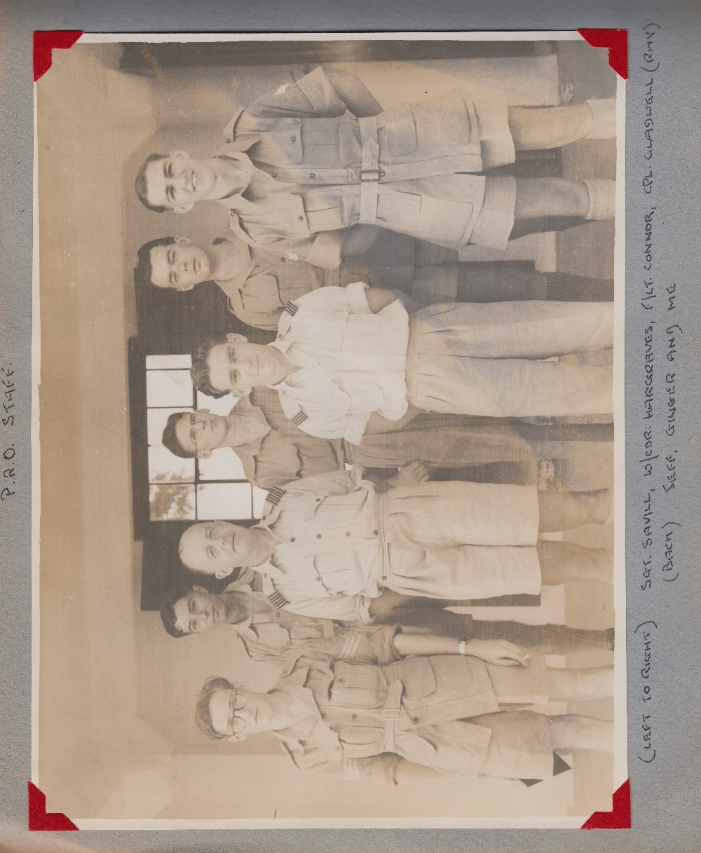 WWII medals, Group of 5 medals to Mr H Leonard with ribbons, France and Germany Star, Italy, - Image 3 of 7