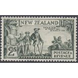 STAMPS NEWZEALAND 1936 2/- Olive Green unmounted mint SG 589