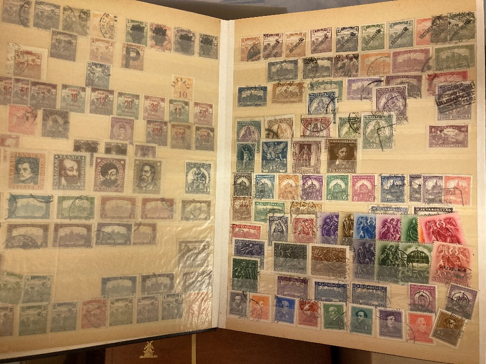 STAMPS Accumulation in four stock books, including early GB, Hungary, Belgium and Commonwealth. - Image 3 of 4