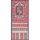GREAT BRITAIN STAMPS 1911 Somerset 10d Dull Reddish Purple and Aniline Pink (f),