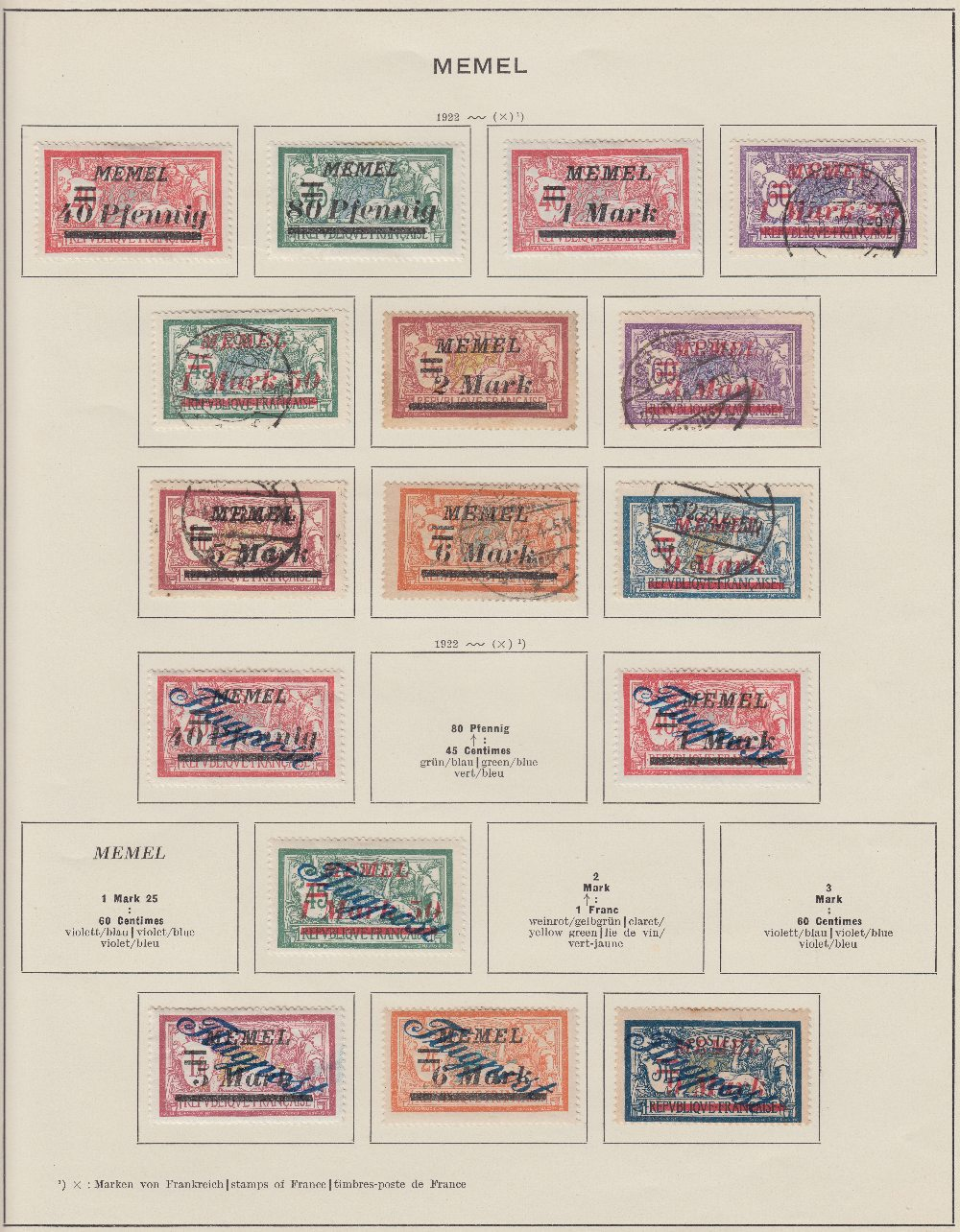 STAMPS : Two large Schaubek albums with Europe up to 1933, reasonably well filled.