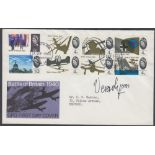 AUTOGRAPH : VERA LYNN signed 1965 Battle of Britain Phos FDC full set,