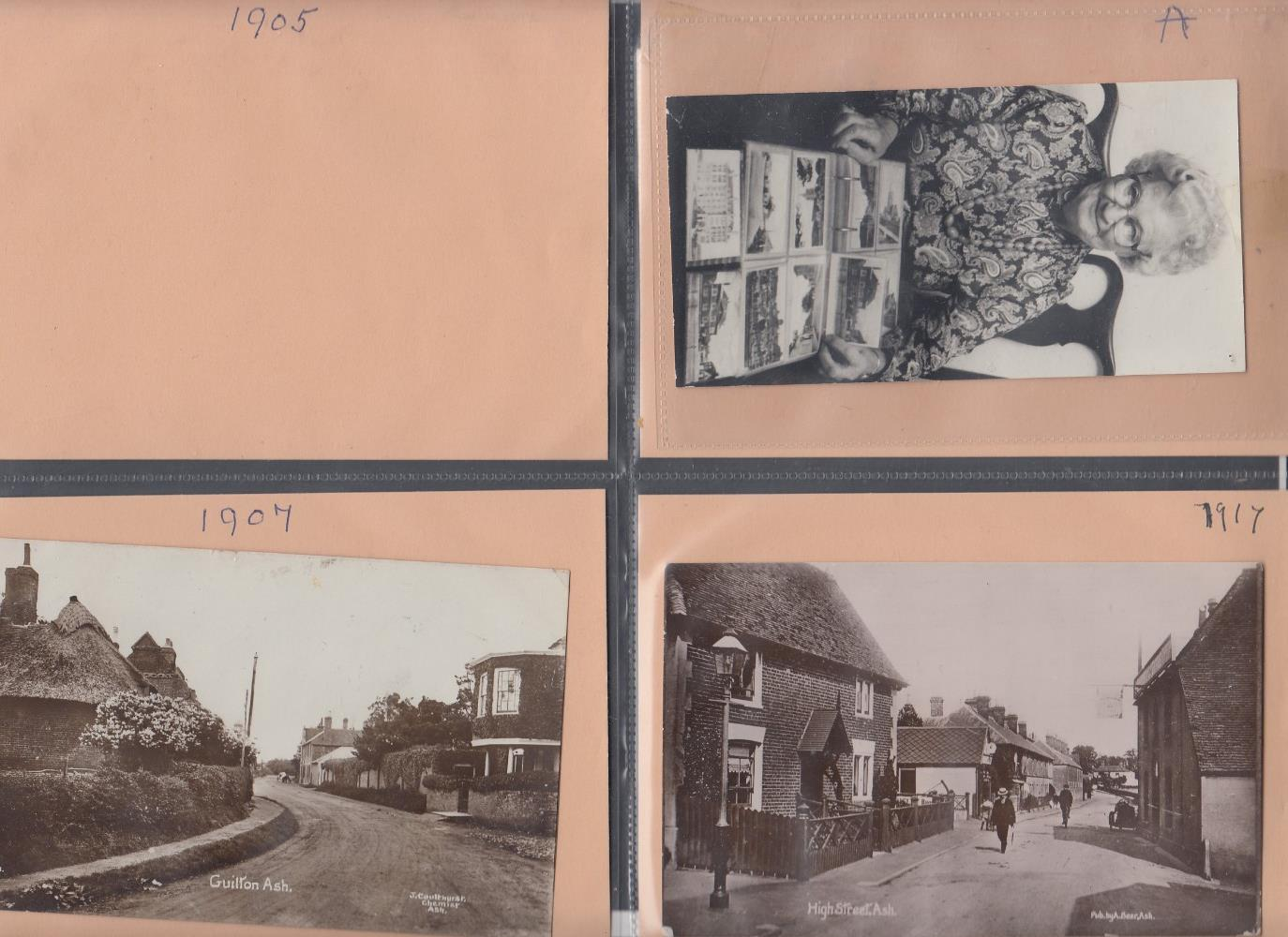 POSTCARDS Two albums of cards mainly from Sandwich and East Kent, some good early cards noted. - Image 5 of 6