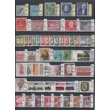 STAMPS GERMANY Mint, mainly unmounted on stock pages,