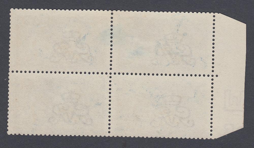 GREAT BRITAIN STAMPS 1913 10/- Indigo Seahorse, - Image 2 of 2