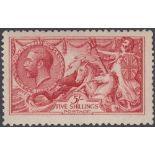 GREAT BRITAIN STAMPS 1915 5/- Bright Carmine unmounted mint SG 409 Cat £1100