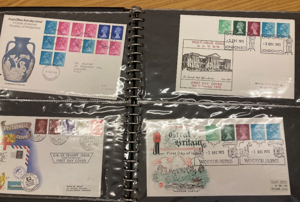 STAMPS FIRST DAY COVERS Box with six albums incl Royal Mail FDCs for 2012 Olympics & Paralympic - Image 4 of 4